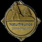 Wanderabzeichen Wilhelmsburger Rundwanderweg BRONZE