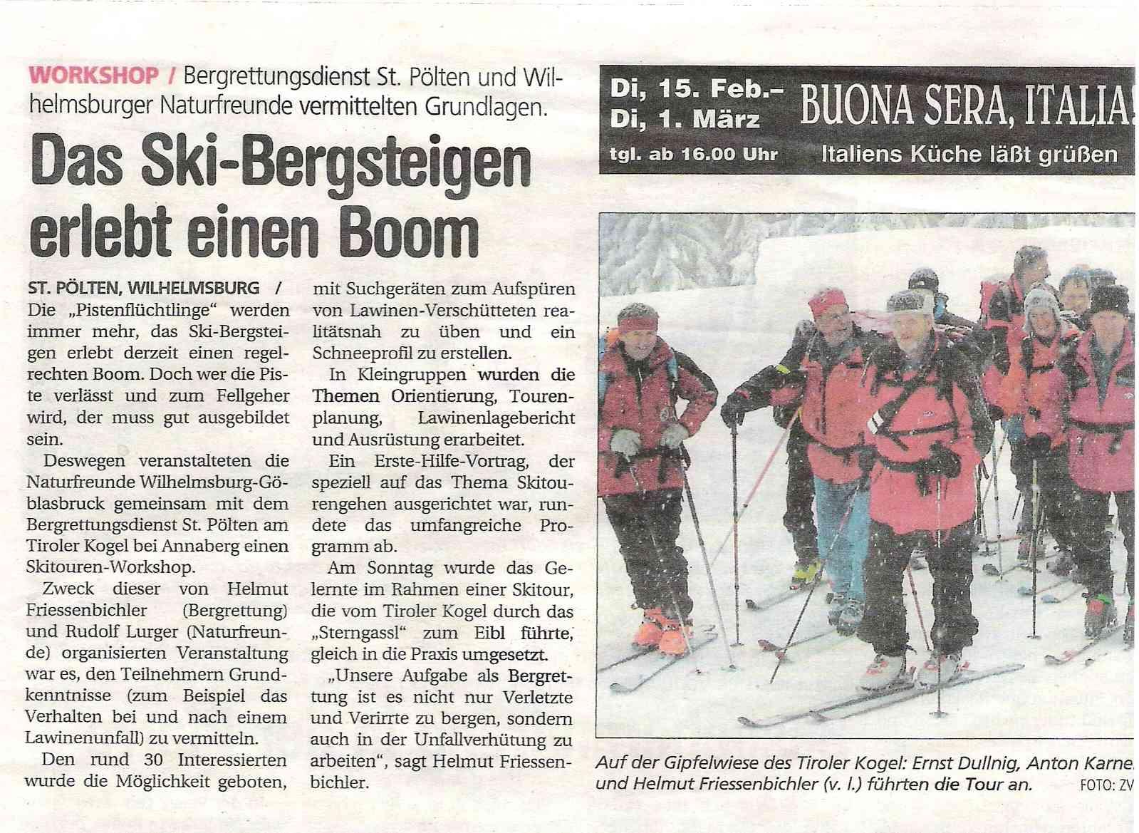 Skitourenworkshop_NÖN 2005
